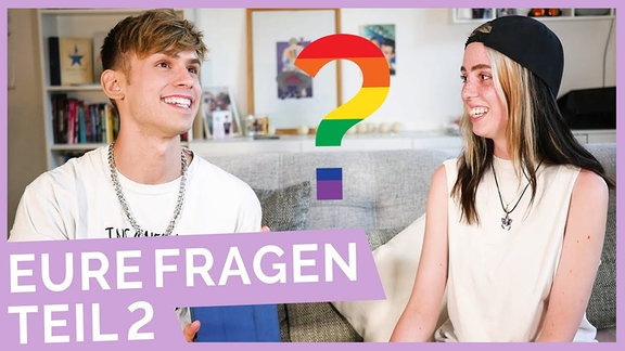 Thumbnail zu Okay-Video Gay Q&A: Hinterfragen der Sexualität, Kinderwunsch, Asexualität?
