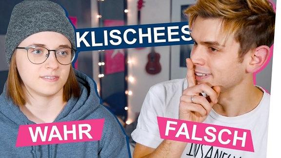 Kostaas und ich haben auf Twitter nach Klischees über Schwule und Lesben gefragt und darüber diskutiert, ob sie wahr oder falsch sind.