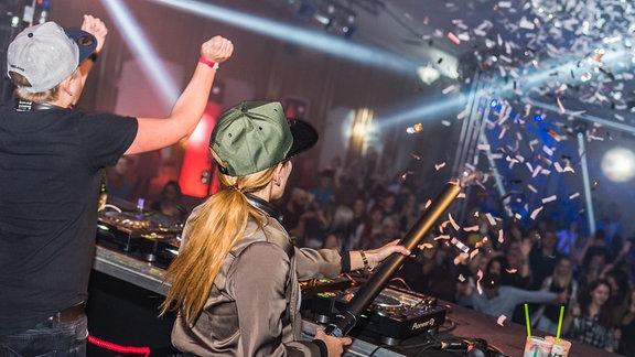 DJs bei der SPUTNIK Heimattour in Teutschenthal
