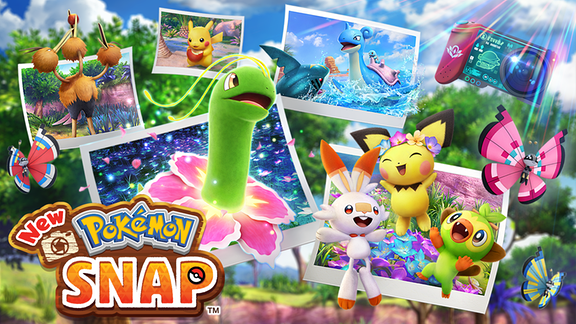 Titelbild Pokémon Snap 2021 25 Jahre Pokémon