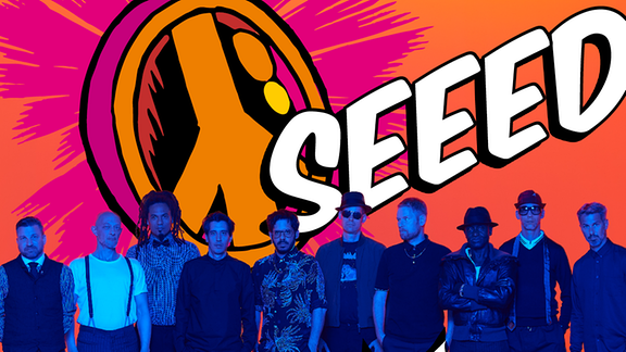 SEEED Pressebild für SPUTNIK Spring Break 2020
