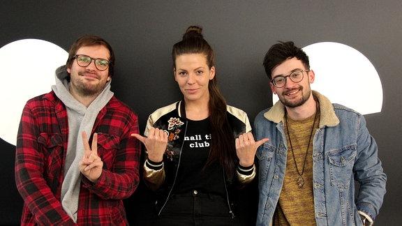 Band Storyteller aus Leipzig im Soundcheck