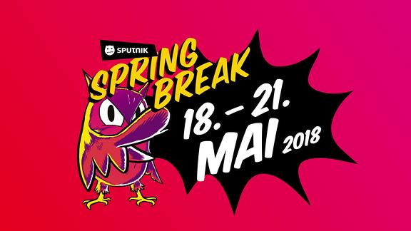Das Logo vom SPUTNIK SPRING BREAK 2018