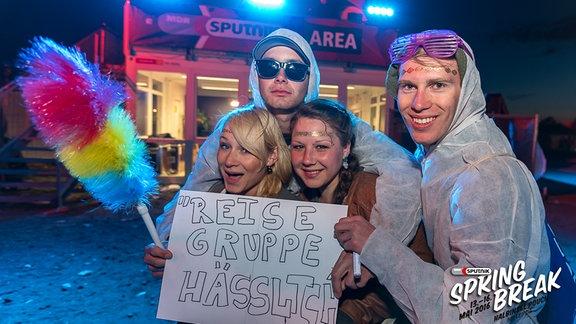 """Reisegruppe """"Hässlich"""" beim SSB 2016"""
