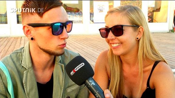 Lexer im Interview mit Sissy Metzschkte