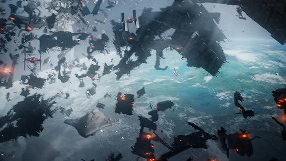 Szene aus Star Wars Battle Front 2