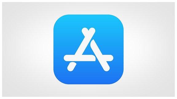Button des iOS Appstore