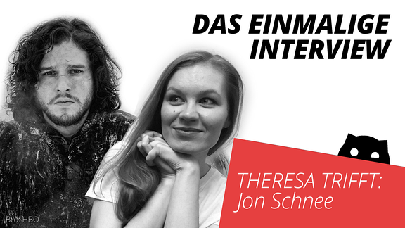Jon Schnee und SPUTNIKerin Theresa