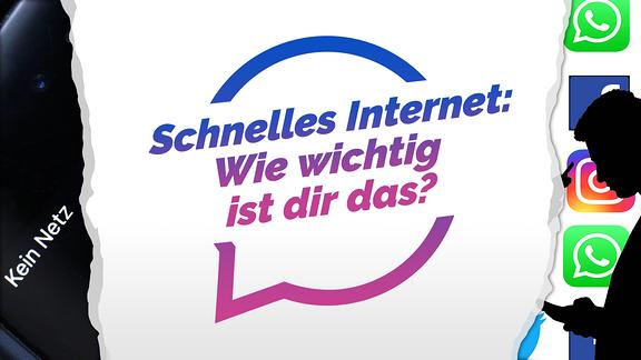 """Das neueste Diskussionsthema in """"Deine Meinung"""" in der SPUTNIK App: Schnelles Internet - wie wichtig ist dir das?"""