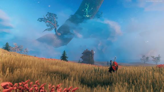 Screenshot aus dem Survival Game Valheim