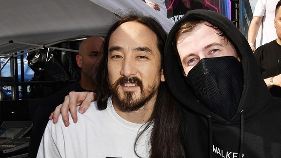 Steve Aoki und Alan Walker @1 Hotel, South Beach, Miami/Florida