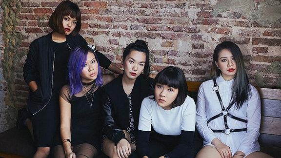 Die Girls von Atta Chai (DJ Crew)
