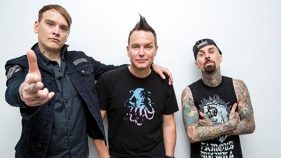 Pressefoto der Band Blink 182