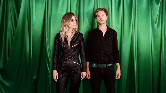 Blood Red Shoes, Rock-Duo aus Brighton