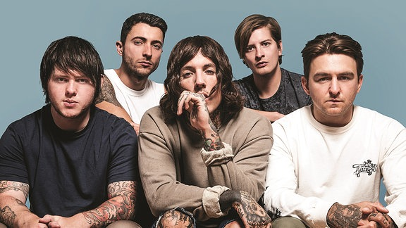 """Bring Me the Horizon"", britische Metalband aus Sheffield, Yorkshire/England"