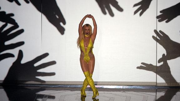 Britney Spears performt im Madison Square Garden in N.Y.C.