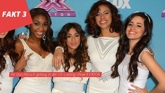 Camila Cabello (ganz rechts) mit Fifth Harmony
