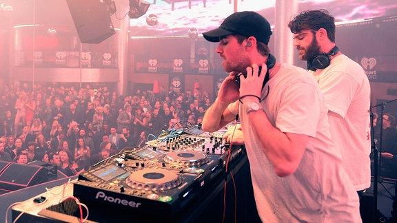 Andrew Taggert und Alex Pall @iHeart Radio/Las Vegas