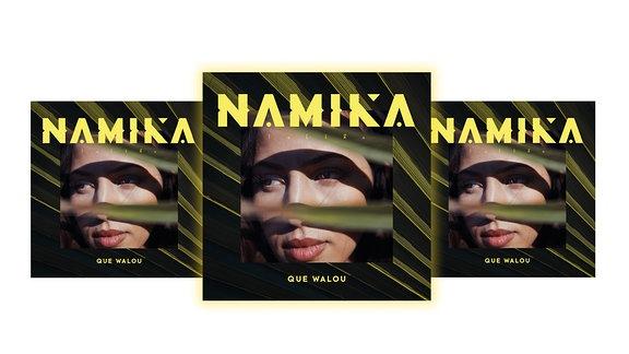 "Cover ""Que Walou"", aktuelles Album von Namika"