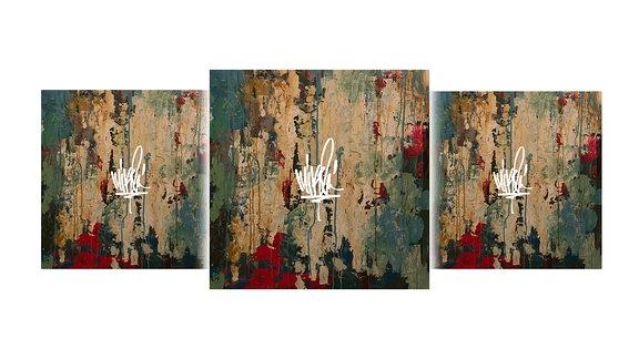 "Mike Shinodas, Cover zum Album ""Post Traumatic"""