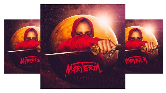 "Cover ""Roswell"" Marteria"