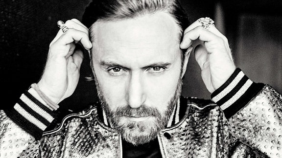 David Guetta, Portrait (s/w)