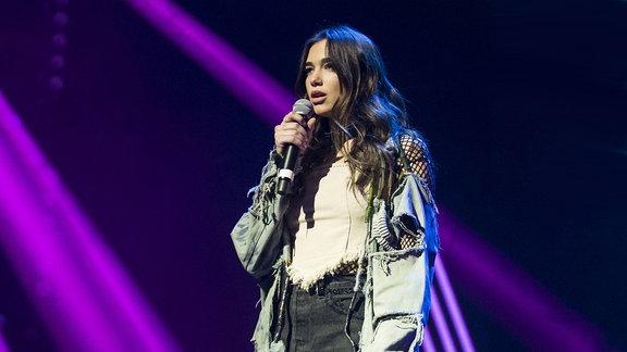 Dua Lipa bei den Swiss Music Awards 2016 in Zürich.