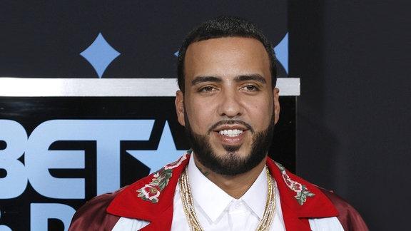 French Montana,  1984 in Casablanca, Marokko geboren, ist ein US-amerikanischer Rapper und Sänger.