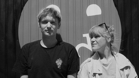 Fye (re.) & Fennek, Musiker-Duo aus Kassel/Berlin