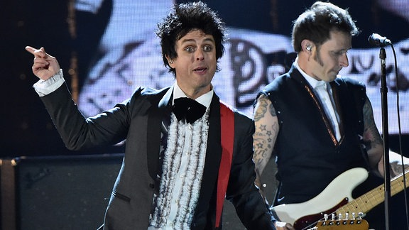 Green Day in der Rock 'n Roll Hall of Fame (Cleveland/Ohio/USA/ 2015)