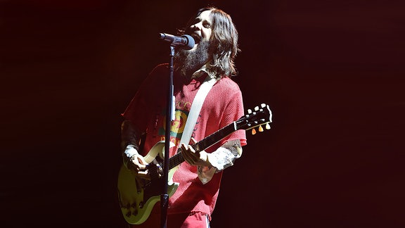 Jared Leto, Sänger von 30 Seconds to Mars, Januar 2018 @Irving Plaza N.Y.C.