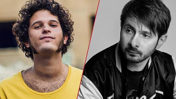 die Musiker Kid Simius und K-Paul