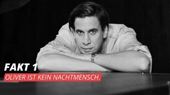 """Oliver Koletzki, deutscher Produzent und DJ im Bereich """"Elektro"""" aus Braunschweig."""