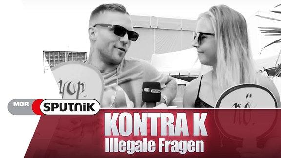 Kontra K - illegale Fragen
