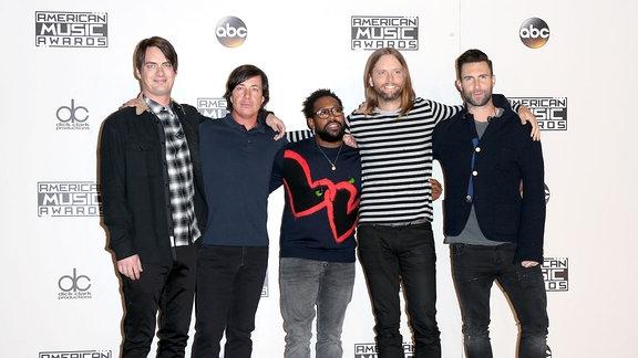 Maroon 5 beim Amercan Music Award 2016