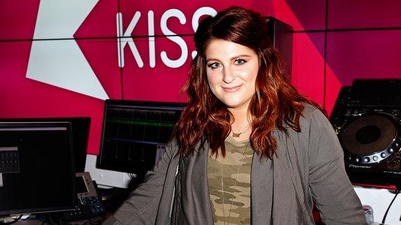 Meghan bei Kiss FM in London