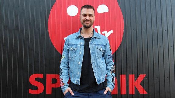 Nisse, Musiker aus Hamburg zu Besuch bei MDR SPUTNIK