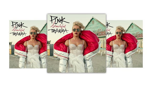 "Cover ""Pink beautiful Trauma"""