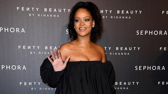 Rihanna in Paris, September 2017