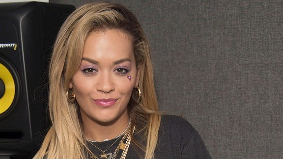 Rita Ora @Kiss FM Studios in London, Mai 2018