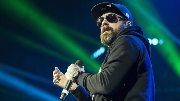 Sido bei den Swiss Music Awards 2016