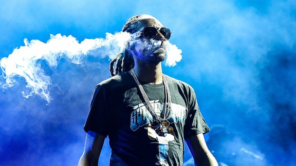 Snoop Dogg performt in Raleigh/North Carolina/USA