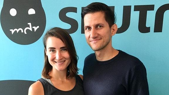Sven Tasnadi und Kathi Groll