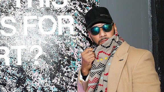 Swizz Beatz, US-amerikanischer Hip-Hop-Produzent und Rapper aus New York City.