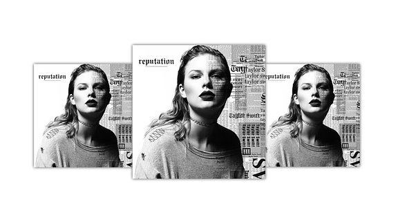 "Albumcover ""Reputation"""