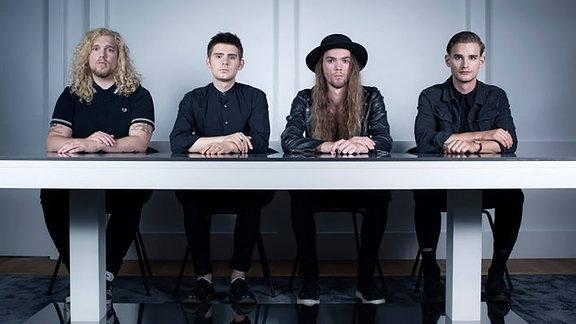 """""""The Bongo Club"""", Band aus dem schwedischen Borås"""