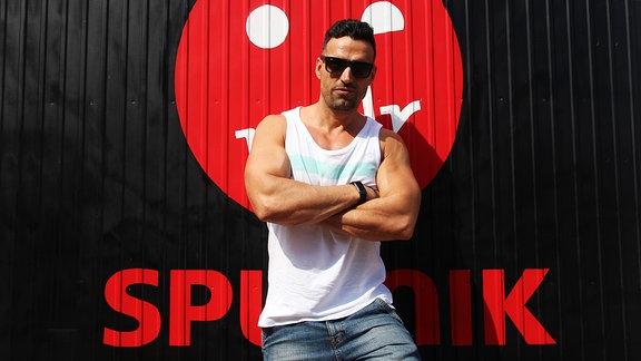 Vize, DJ aus Schwerin zu Besuch bei MDR SPUTNIK