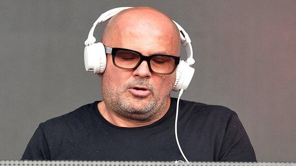 DJ Westbam beim Lollapalooza Berlin 2017