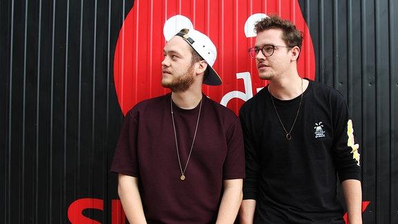 Tobias und Gregor sind YOUNOTUS und zu Besuch bei MDR SPUTNIK