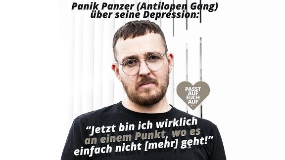 Panik Panzer von der Antilopengäng erzählt von seiner Depression